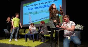 1700 elever besökte Teknikmässan