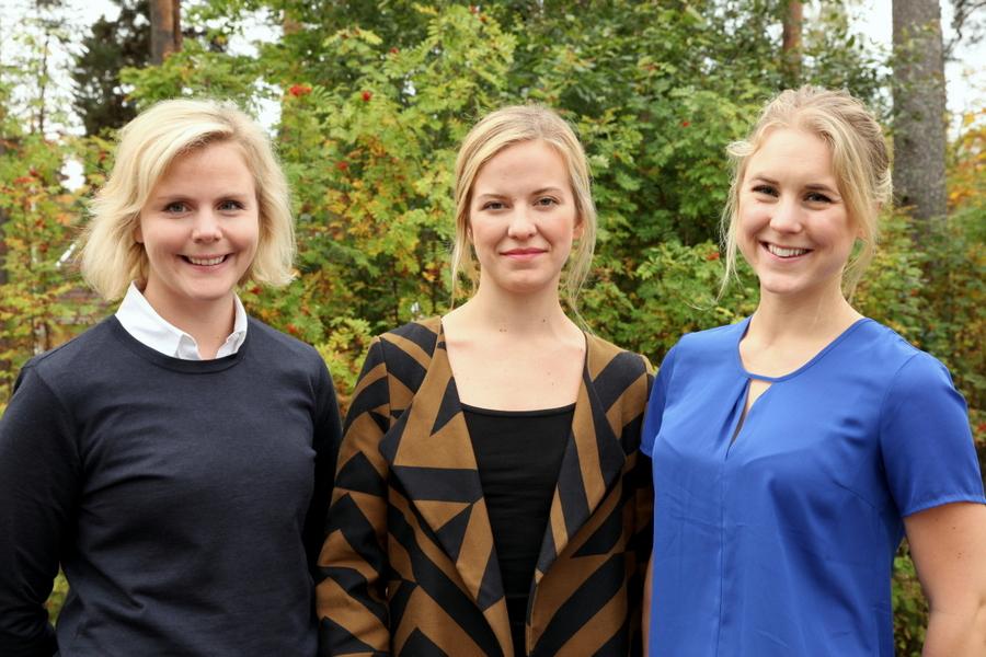 Stockholms Universitet: Carolina Lindholm, Agneta Berge, Mikaela Holmberg